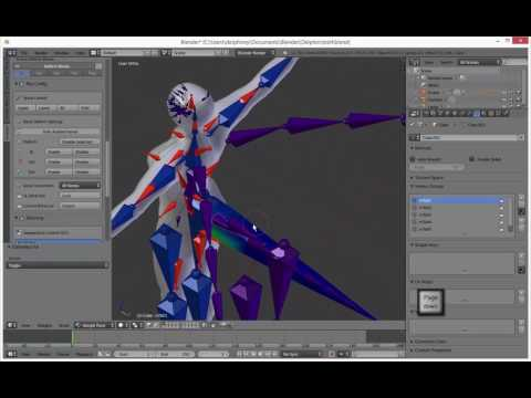 how to rig a tail in avastar (blender plugin)