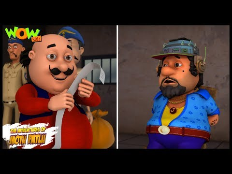 Dr Jhatka ka Mind Printer - Motu Patlu in Hindi - 3D Animation Cartoon for Kids -As seen on Nick