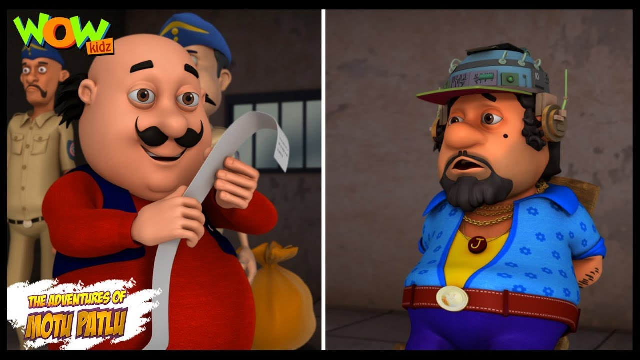 Dr Jhatka Ka Mind Printer Motu Patlu In Hindi 3d Animation