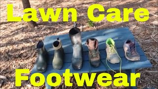 Lawn Care Footwear Review - Comparing Different Shoes and Boots thumbnail