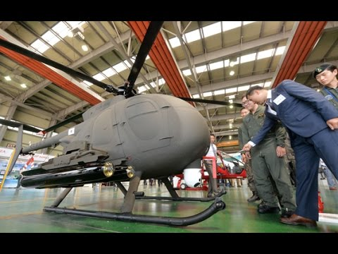 육군 무인 헬기(KUS-H15)... 신기하게 생겼네!