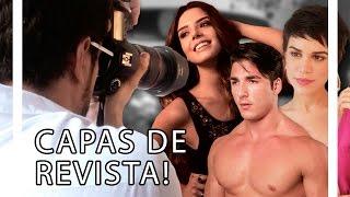 CAPAS DE REVISTA COM CARLA SALLE E GIOVANNA LANCELLOTTI! | TORQUATTO TV