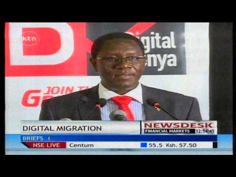 Nairobi to be the pioneer of the digital migration process starting 31st December 2014