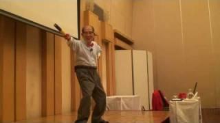 昇地三郎の棒体操2010.7.4