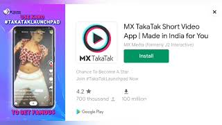 MX Taka Tak Short Video App || Made in India for You || #addskhazana screenshot 3