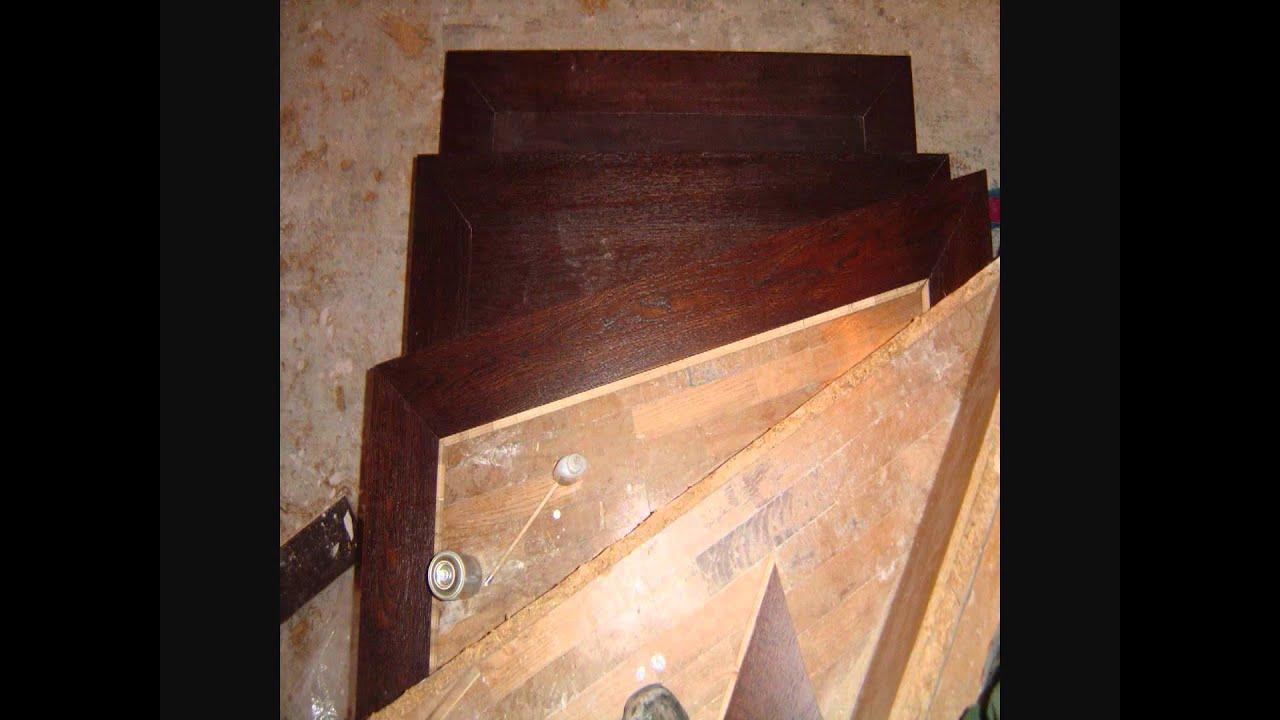 Revestimiento de escalera youtube - Peldanos escalera imitacion madera ...