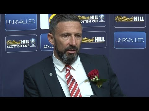Celtic 2-1 Aberdeen - Derek McInnes Full Post Match Press Conference - Scottish Cup Final