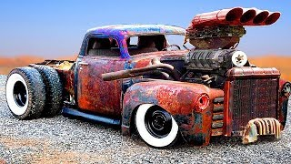 Download CRAZIEST and POWERFUL CARS & TRUCKS (Detroit Diesel) | CUSTOM HOT RODS and RAT RODS Mp3 and Videos