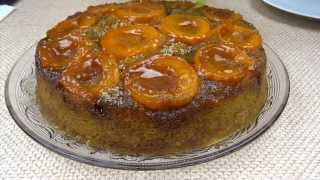 Пирог с абрикосами рецепт. Вкусный простой абрикосовый пирог со свежими  абрикосами и миндалём