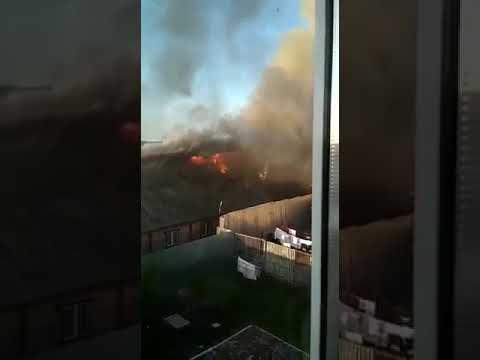 Ик-4 Ивановская обл. Пожарные даже не приехали а зарплату получают хорошую.