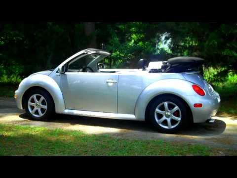 Top Operation For The 2004 Vw Beetle Convertible Gls 1 8t