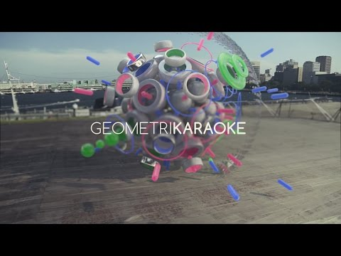 GEOMETRIKARAOKE, experimental 3D compositions by LOROCROM