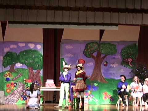 Alice in Wonderland South Brandywine Middle school Mad Tea Party