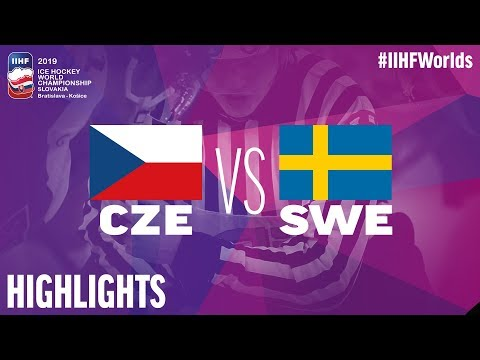 Czech Republic Vs. Sweden | Highlights | 2019 IIHF Ice Hockey World Championship