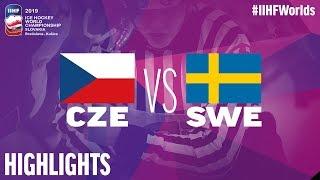 Czech Republic vs. Sweden | Highlights | 2019 IIHF Ice Hockey World Championship