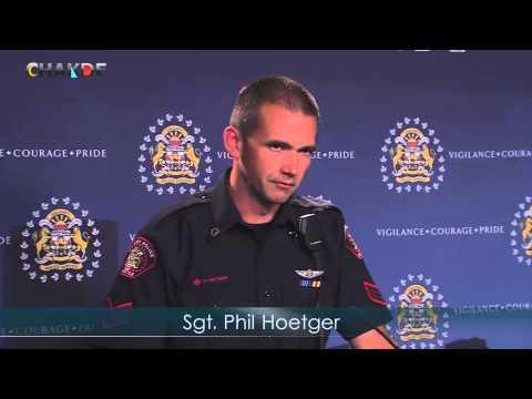 Calgary Police Chief Hansen Press Conference - International Avenue Beat Team (IABT)