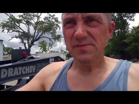 Heavy Haul TV: Stopping on Bulldog Drive in Charleston, South Carolina