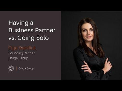 Having a Business Partner vs  Going Solo