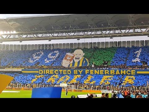 Koreografi - Directed by Fenerbahçe | Fenerbahçe 0-0 Galatasaray 17.3.2018