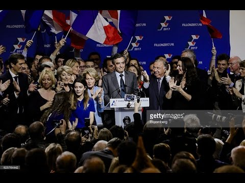 Candidates of the Republican primary // presidential France elections 2017
