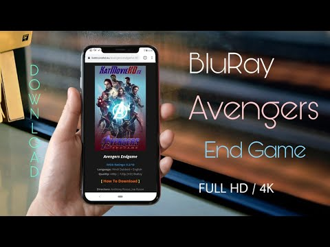 [Download] Avengers End Game  BluRay - (fastest Links) Hindi+English Original Audio