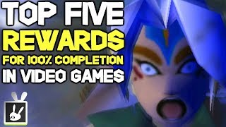 Top Five Rewards For 100% Completion In Video Games