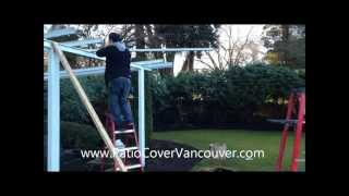 How To Set Up A Patio Cover Free Standing