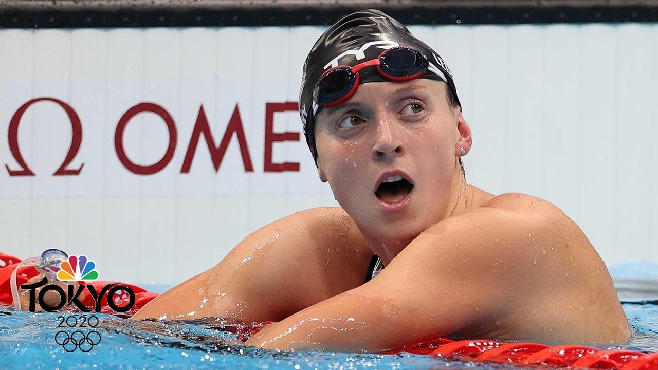 Katie Ledecky Wins Gold For U.S. In 800-Meter Freestyle