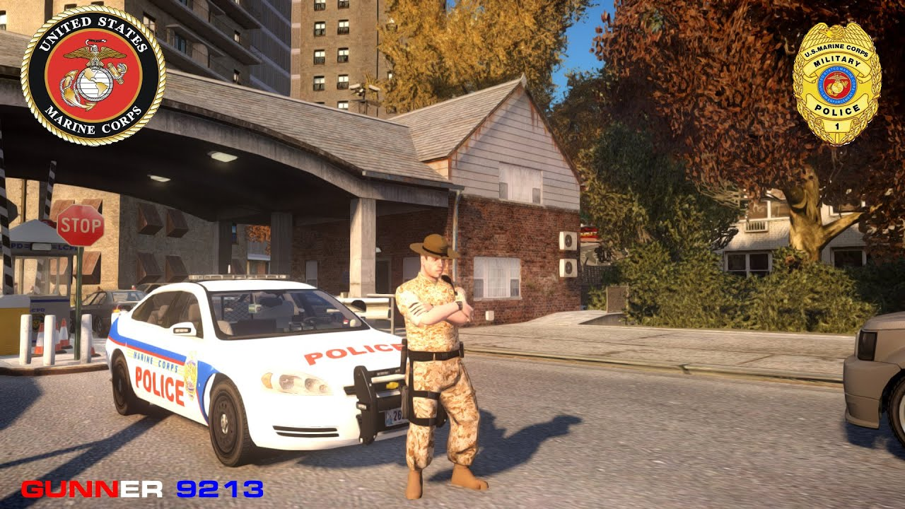 Grand Theft Auto IV Lcpdfr SP United States Marine Corps Military ...
