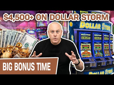 🌨 $4,500+ Won on HIGH-LIMIT Dollar Storm from MULTIPLE MINI BOOMS 💣 MORE Slots at Grand Z