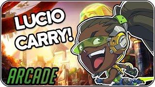 Lucio Carry! • Overwatch Arcade deutsch