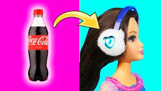 14 AWESOME DOLL HACKS AND DIY for Girls | Easy Barbie Life Hacks and Crafts Ideas