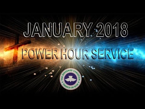 RCCG DUBAI January 2018 POWER HOUR SERVICE
