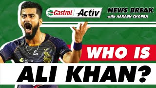 ALI Khan FIRST USA cricketer to play in IPL   Castrol Activ News Break