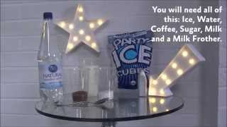 How to make an Iced Coffee with The Ice Co