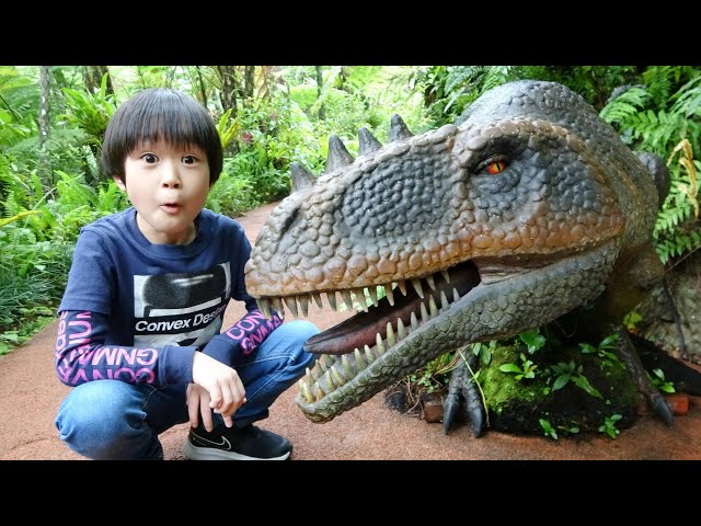 おでかけ 沖縄  DINO恐竜PARK やんばる亜熱帯の森で恐竜をみつけるよ! レオスマイル