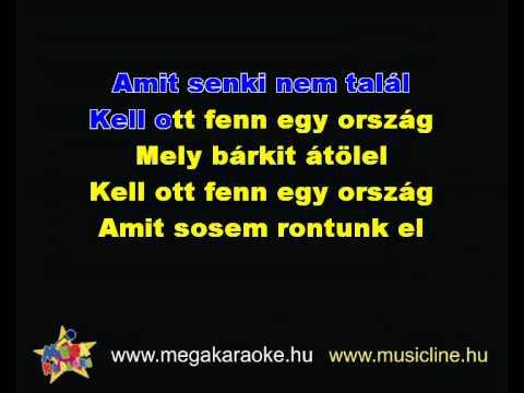 Zorán-Kell ott fenn egy ország karaoke