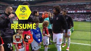 OGC Nice - Stade Rennais FC ( 1-1 ) - Résumé - (OGCN - SRFC) / 2017-18