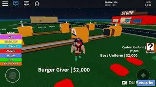 Roblox BurgerFabrik: Alles passiert?!