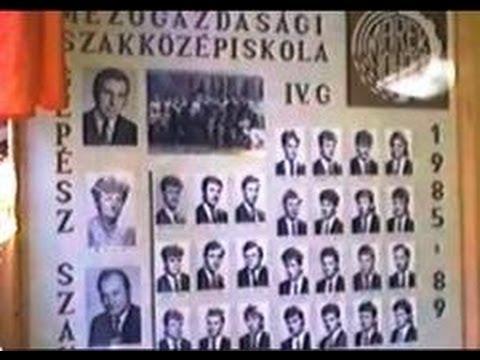 Dr. Marek József Mg-i SzKI, Mohács - Ballagás 1989