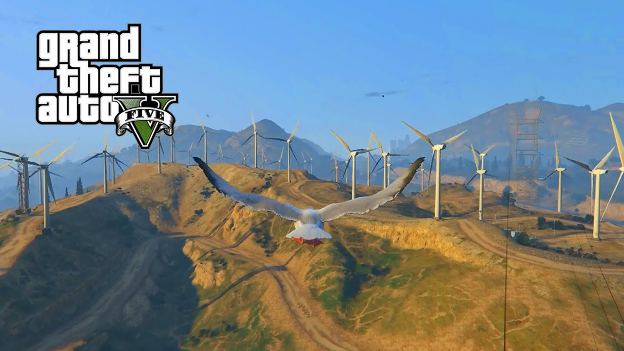 """GTA 5 - """"PLAY AS A SEAGULL"""" - Easter Egg Tutorial Guide ..."""