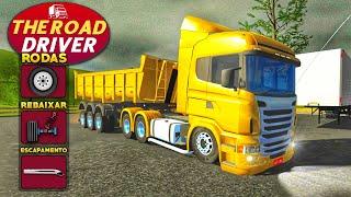 SAIU! Jogo De Caminhões Brasileiro para Android Com Oficina  - The Road Driver