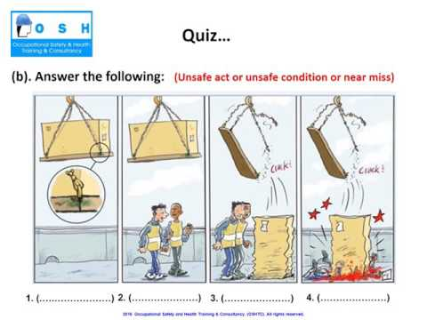 Unsafe Act, Unsafe Condition, Near Miss & Incident (Accident)