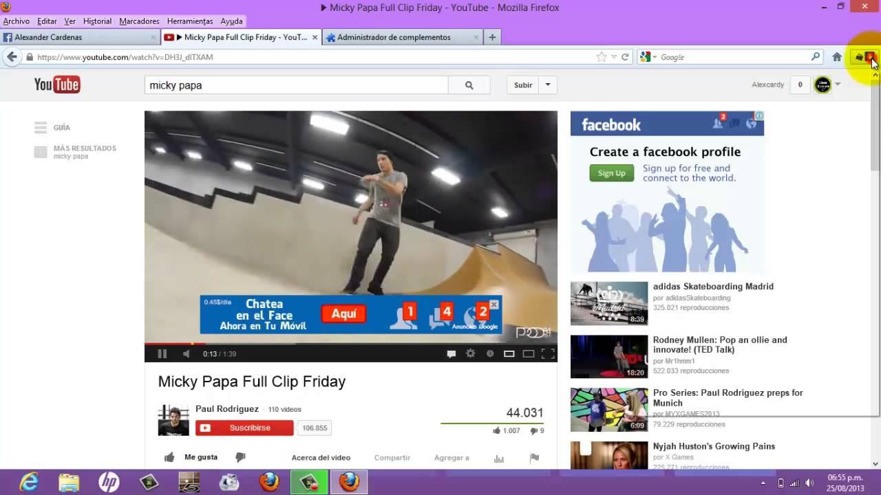 Video DownloadHelper – Consigue esta ... - Firefox