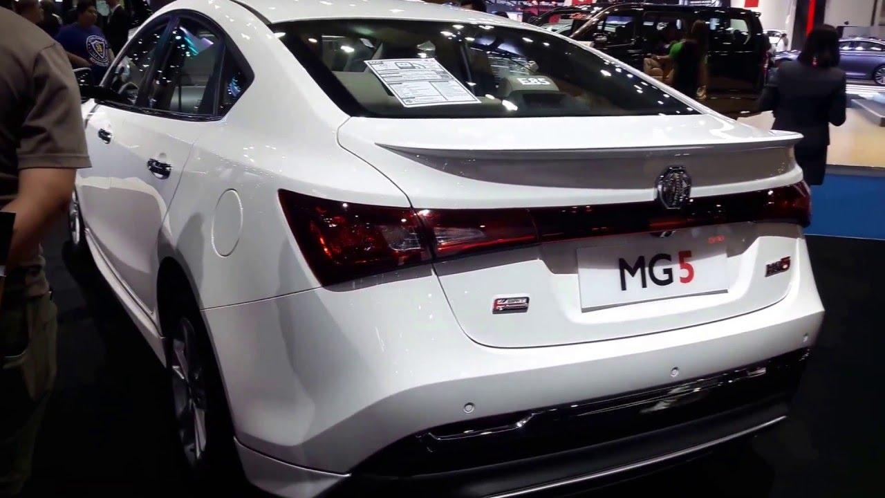 MG5 thailand motor show - YouTube