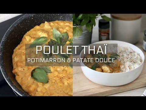 recette-healthy-santÉ---poulet-thaï-au-potimarron-&-patate-douce