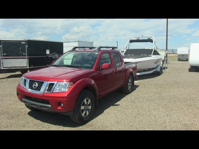 Tow Test 2013 Nissan Frontier Pro 4x Goes For 0 60 Mph With A Boat