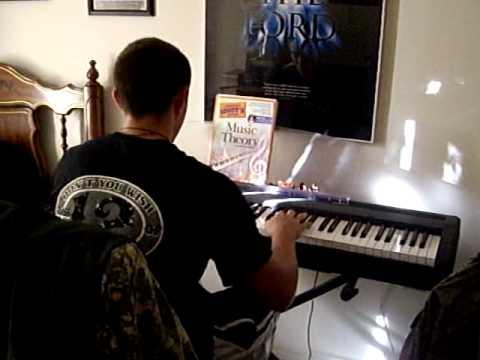 Davis playing the keyboard.AVI