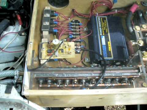 Electric car conversion with home made controller 92 eagle for Surplus electric motors sale