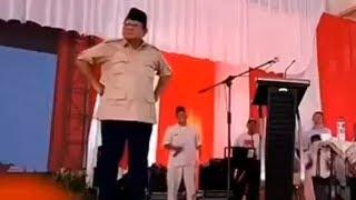 Video Prabowo Berjoget dan Tantang Wartawan yang Khusus Menunggunya Salah Bicara untuk Diberitakan